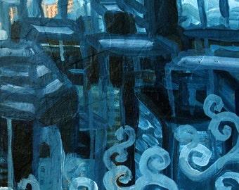 Bluetech Live Painting II