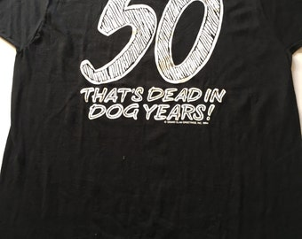 Awesome 1994 50 That's Dead In Dog Years! Birthday T Shirt