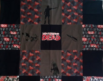 The Walking Dead quilt