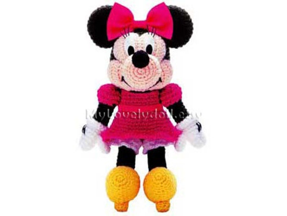 Minnie Mouse Amigurumi Crochet Pdf Pattern In English