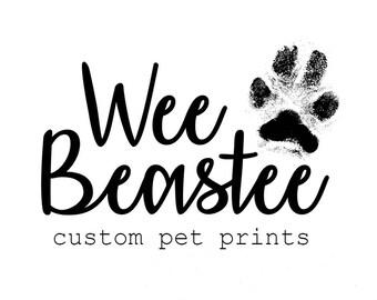 Print KIT - Get your paw print!