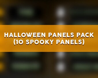 Halloween Panels Pack