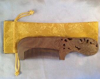 A0011- Wooden Comb