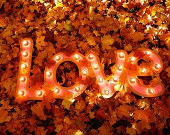 """Sign """"Love"""" Just a Spark"""