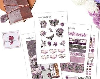 Zombie Unicorns Printable Planner Stickers - Planner Accessories - Planner Stickers - Creepy Cute - Penpals - Stationery - Stickers