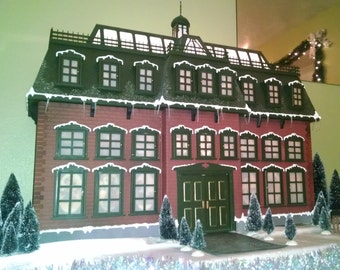 Full Completed Christmas Advent House