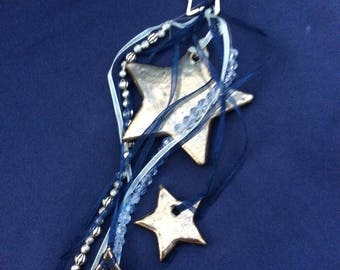 Star Decoration in blues