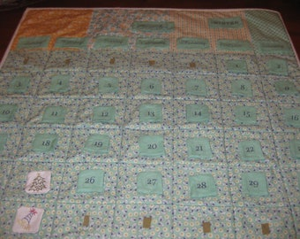 Hand Embroidered Perpetual Calendar