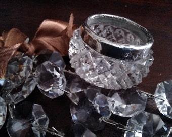 Salière de cristal