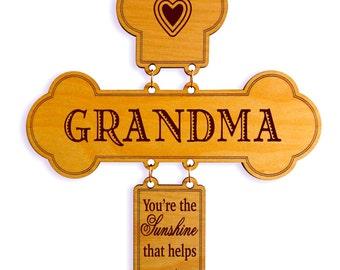 Grandma Gift Ideas - Gifts for Grandmother - Grandma Birthday Gift - Mothers Day Gift - Mother's Day - Wall Cross