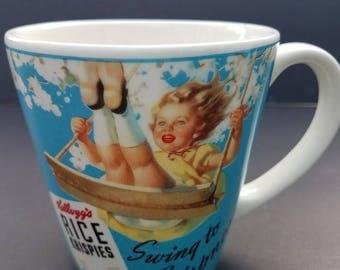 Vintage Kellogg's Rice Krispies Coffee Mug