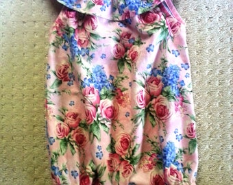 Girl's Vintage Rose Rompers