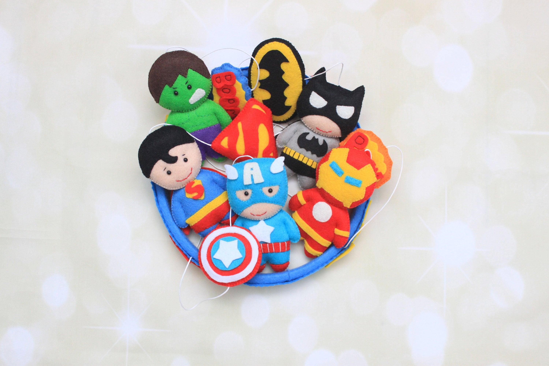 Avengers mobile Krippe mobile Marvel Kinderzimmer Superheld