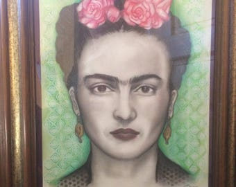 Frida drawing