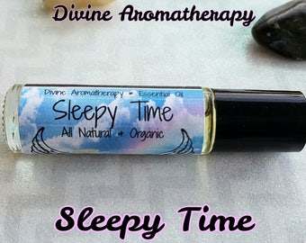 Divine Aromatherapy: Sleepy Time - Organic Essential Oils