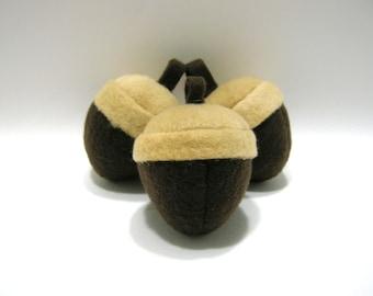 Hand-made Acorn Catnip Filled Cat Toy