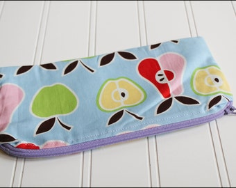 Apples and Pears Zipper Pouch