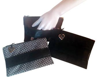 Perfect Little Clutch in Black or Brown