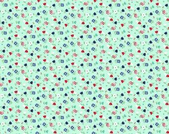 A LITTLE SWEETNESS By Tasha Noel for Riley Blake Floral Mint
