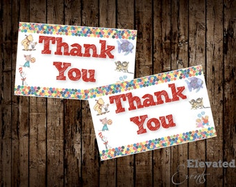 Storybook Baby Shower Thank You Cards