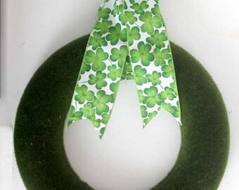 St. Patrick's Day Wreath, St. Patrick's Day decor,St. Patrick's Day Wreath for front door, rustic wreath, home decor, small wreath, irish