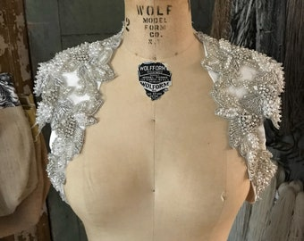 Stunning heavily beaded shrug