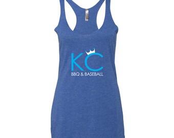 KC Tank top | KC Tee | KC Apparel | Kansas City tank | Kansas City Apparel | Kansas City Royals | Kc Royals | Royals| Royals tank | Royals T
