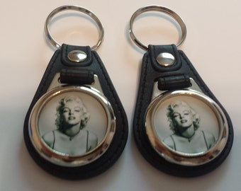 Marilyn Monroe 2  keychain fobs