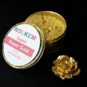 Gold Metallic Super Dust By Rolkem Gold Highlighter Dust DUS216