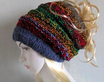 Dredy akcesoria niebieskie rury kapelusz pałąk szeroki sweter włosy owinąć pałąk Dread okład Owiń włosy Hippie pałąk Gypsy ubrania Dreadband