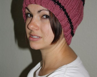 Soft and warm reversible hats for winter fun!