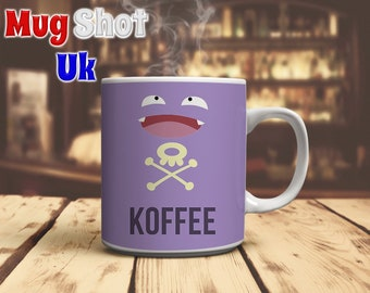 Koffing Pokemon Coffee Mug Koffee