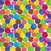The Very Hungry Caterpillar Encore Multi Color Dots by Eric Carle for Andover Fabrics - 1 Yard