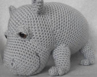 Hippo - Amigurumi Crochet Pattern