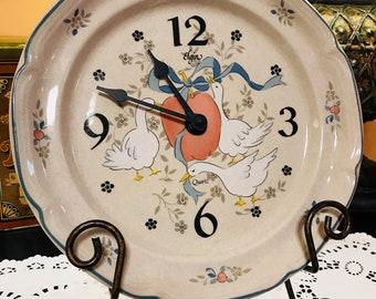Vintage Marmalade by International Stoneware Clock Plate