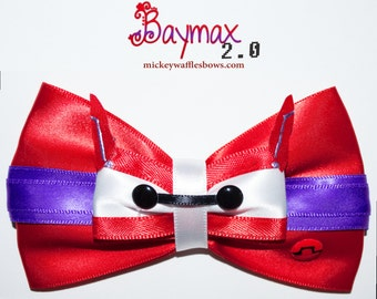 Baymax 2.0 Hair Bow