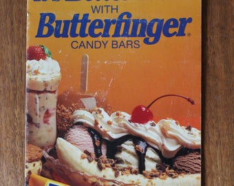 It's Better Made with Butterfinger Candy Bars Recipe Booklet Vintage