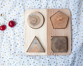 Montessori baby puzzle, Montessori Toddler Toy, Montessori Puzzle, Wooden Toy, Education Toy