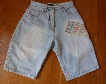 revolt denim shorts