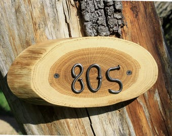 rustic house numbers door plaque Custom Wooden House Number Sign Wood Slice Personalized With  House Number Room number sign hotel door sign