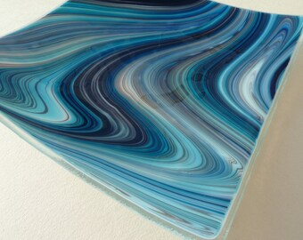 Handmade Glass Plate for Coffee Table Modern Retro