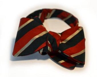 Countess Mara Bow Tie 60s Striped Bow Tie
