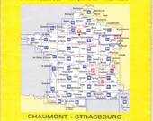 French Michelin Road Map...