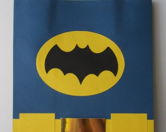 Batman gift bag