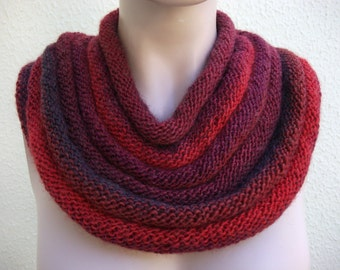 Cowl Knitting Pattern - At least 5 ways to wear!
