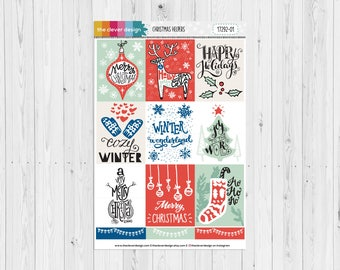 Christmas Helpers Full Box Planner Stickers | 17292-01