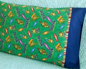 Teenage Mutant Ninja Turtles Pillowcase