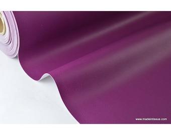 Faux cuirs ameublement rigide violet .x1m
