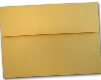 SM Metallic Gold A2 Envelopes - 25 pack