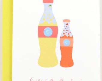 Pop-Pop Father's Day Card, Fathers Day Card, Personalized Card, Custom Card, for Pop-Pop, Pop Pop, Grandfather, Granddad, PopPop, Soda Card